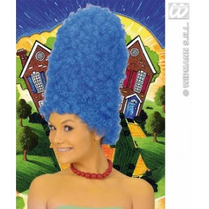 Perruque Cartoon bleue