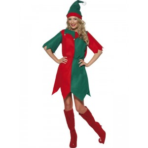 Deguisement Noel Elfe femme