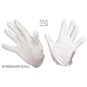 Paire de gants blancs courts