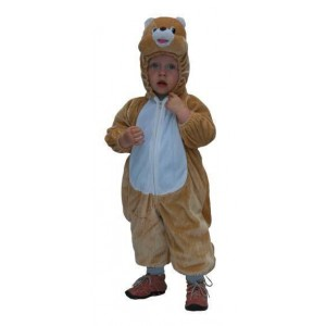 Costume peluche ourson enfant
