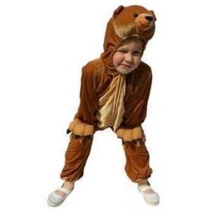 Costume peluche ours enfant