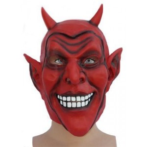 Masque Diable rouge