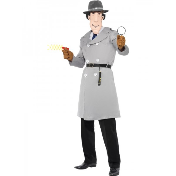 achat costume d guisement inspecteur gadget. Black Bedroom Furniture Sets. Home Design Ideas