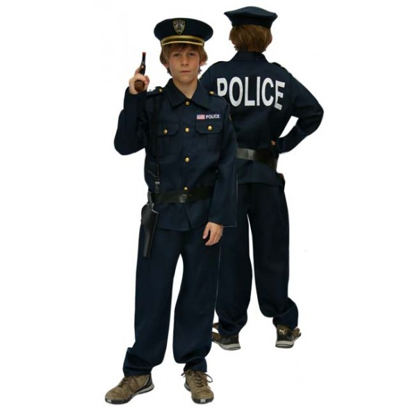 d guisement enfant policier. Black Bedroom Furniture Sets. Home Design Ideas