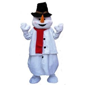 Déguisement Mascotte - Costume Bonhomme de Neige