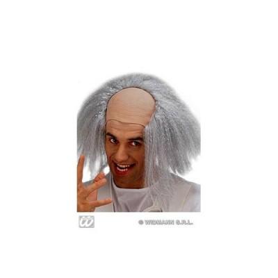 Crâne professeur avec cheveux