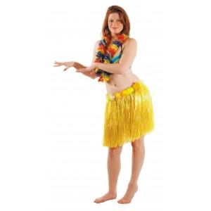 Jupe hawai jaune 45 cm