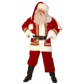 Costume Père Noël européen super luxe