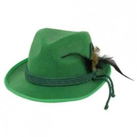 Chapeau tirol feutre vert