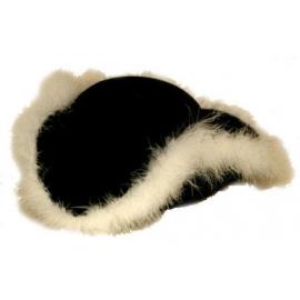 Chapeau tricorne noir