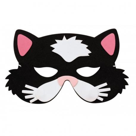 accessoire d guisement masque enfant chat. Black Bedroom Furniture Sets. Home Design Ideas