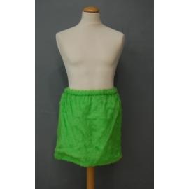 Jupe peluche vert