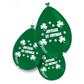 Ballons St Patrick x10