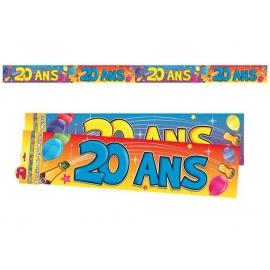 Bannière 20 ans