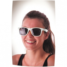 Lunettes fluo blanches