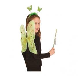 Set Papillon Vert Enfant