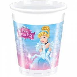 8 Gobelets Princesses Disney 20cl