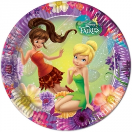 8 Assiettes Fairies 23cm