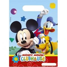 6 Sacs Cadeaux Mickey