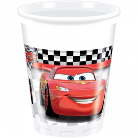 8 Gobelets Cars 20cl