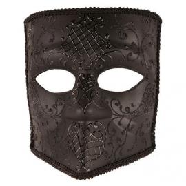 Masque vénitien homme noir