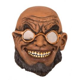 Masque latex pirate zombie