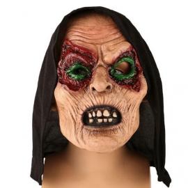 Masque latex sorcière horreur