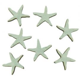 Sachets de 18 étoiles de mer en bois - Sable
