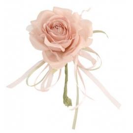 Rose 19cm couleur Taupe