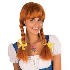 Perruque Heidi châtain