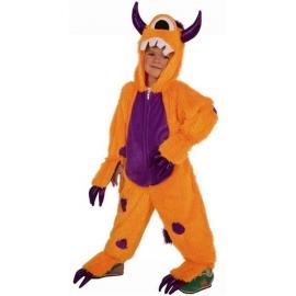Costume peluche monstre enfant