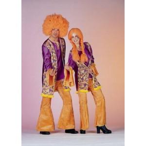 Hippy violet Homme et Femme