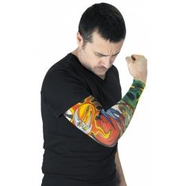 Manche tatouée Carpe diem