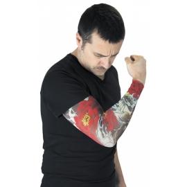 Manche tatouée Yakusa