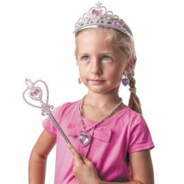 Couronne et baguette de princesse