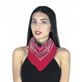 Bandana 55x55cm rouge