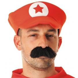 Chapeau borsalino polyester rouge