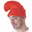 Bonnet lutin rouge