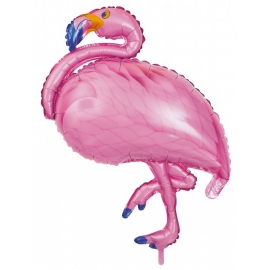 Ballon Flamant rose 81x104cm