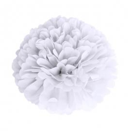 Pompon blanc 15ccm