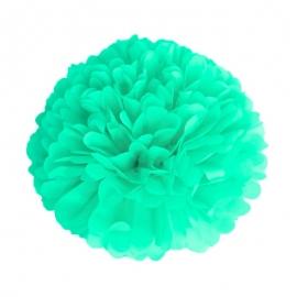 Pompon corail 15cm