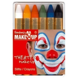 Boîte 6 crayons maquillage