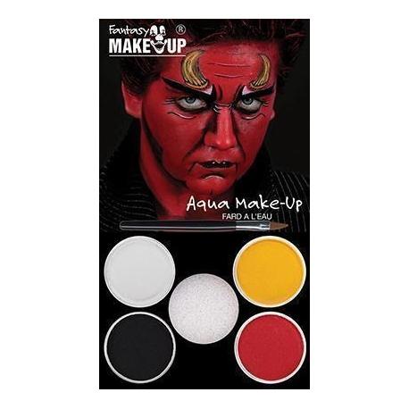 Boîte 6 crayons maquillage glitter