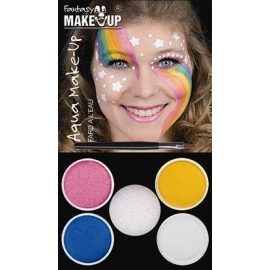 Kit de maquillage arc en ciel