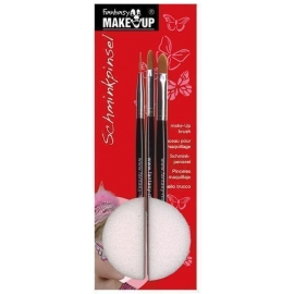 Set de 3 pinceaux maquillage