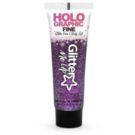 Gel paillettes 12ml violet