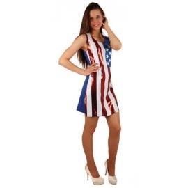 Robe paillettes america