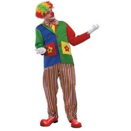 Salopette de clown adulte