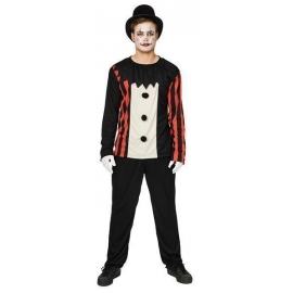Déguisement creepy clown  homme