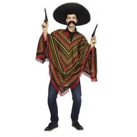 Poncho mexicain - déguisement